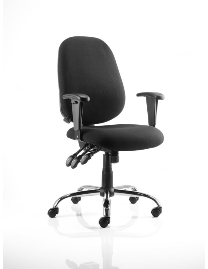 Dynamic Furniture Lisbon Task Operator Fabric Chair