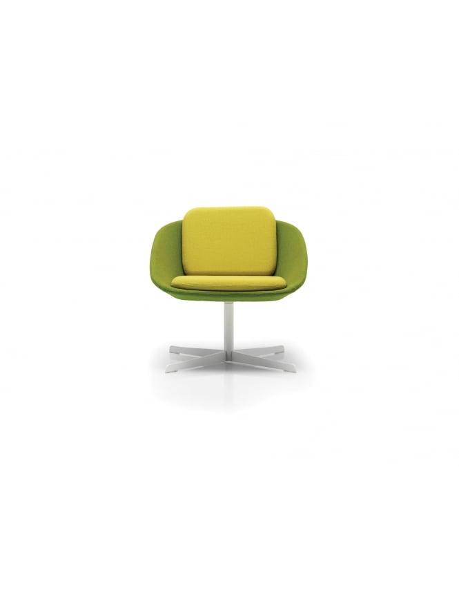 Woodstock Leabank Low Back Swivel Frame Chair