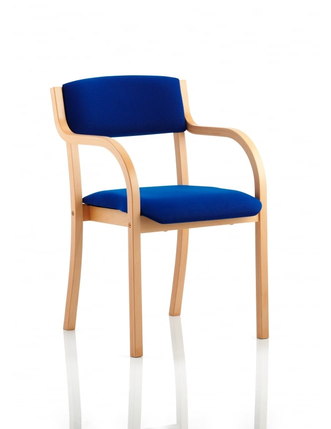 Dynamic Furniture Madrid Visitor Fabric Chair