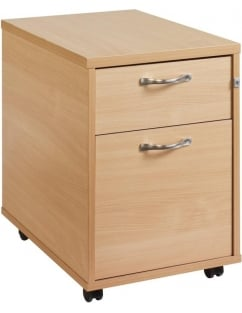 Maestro 25 2 Drawer Mobile Pedestal