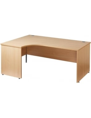 Maestro 25 Left Hand Ergonomic Panel Desk
