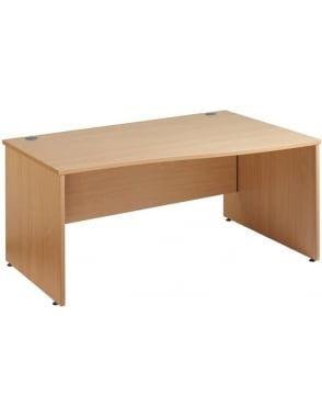 Maestro 25 Right Hand Wave Panel Desk