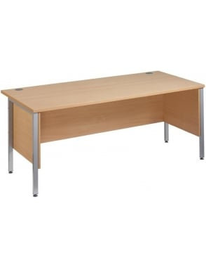 Maestro 25 SL Desk with Side Modesty Panels