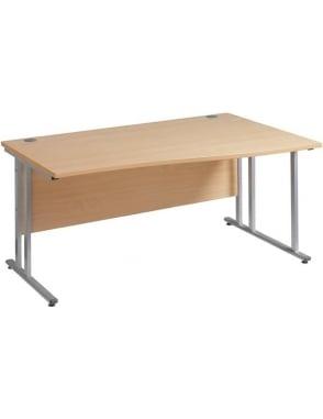 Maestro 25 SL Right Hand Wave Desk