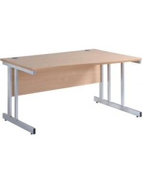 Momento Right Hand Wave Desk