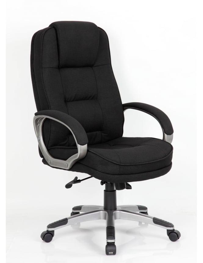 Dynamic Furniture Monterey Executive Black Fabric Chair