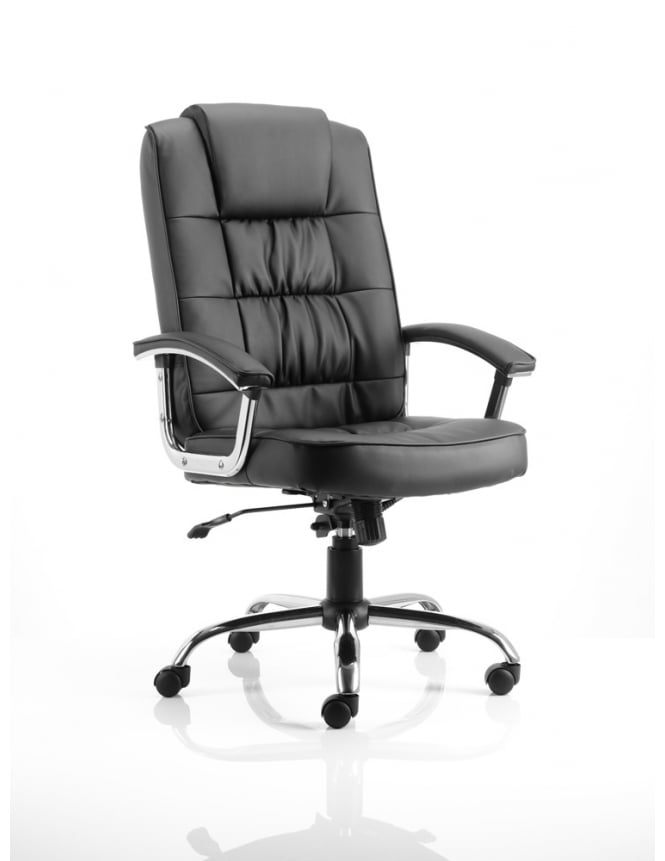 Dynamic Furniture Moore Deluxe Executive Leather Chair
