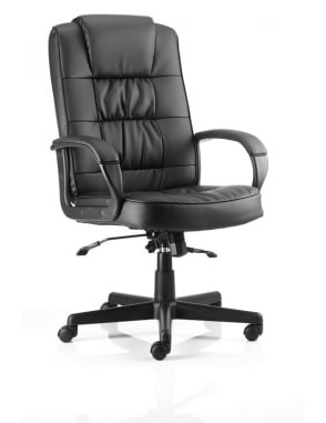 Moore Executive Black Leather Chair