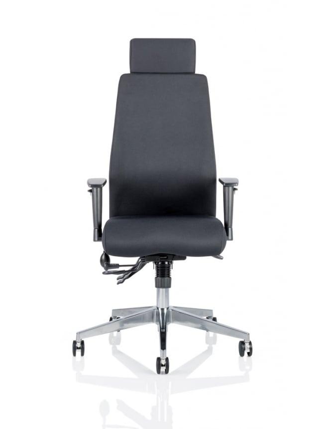 Dynamic Furniture Onyx Ergo Posture Fabric Chair