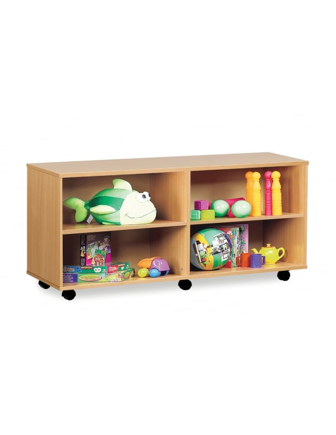 Monarch Furniture Open Shelf Unit with 4 Compartments