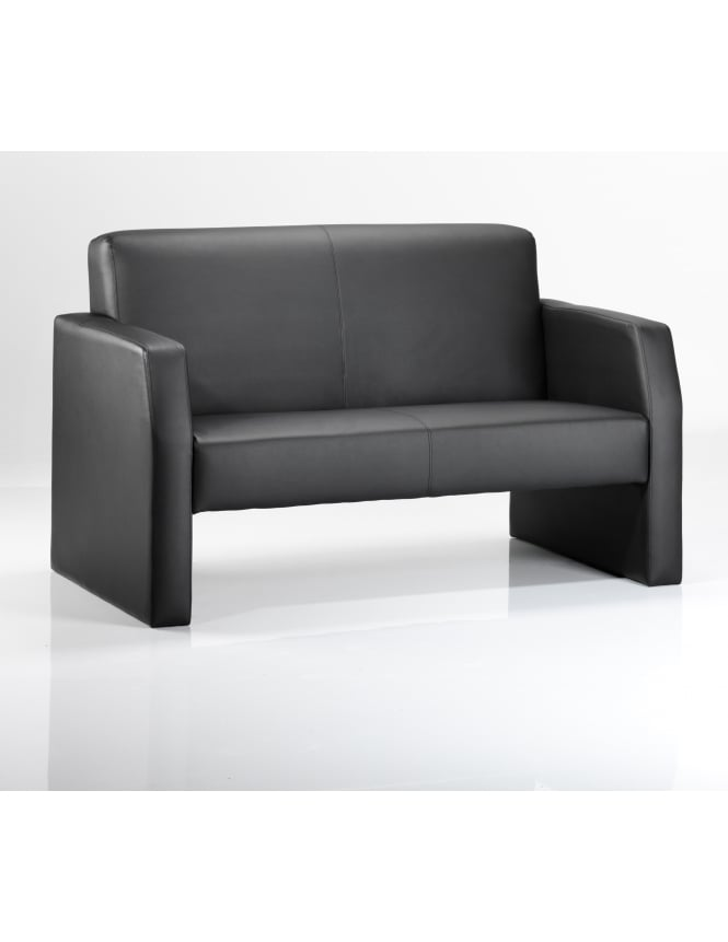 Dynamic Furniture Oracle Twin Break Out And Reception Leather Sofa