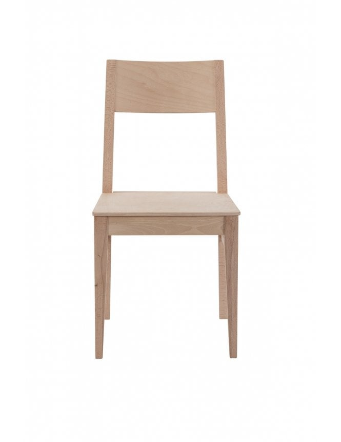 Tabilo Orion Dining Chair Raw with Veneer Seat