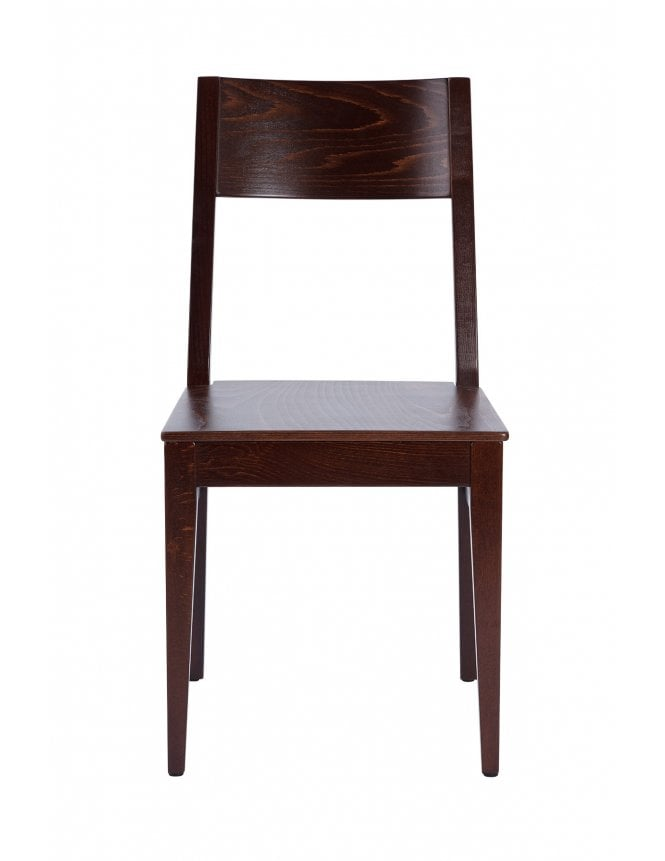 Tabilo Orion Dining Chair Walnut with Veneer Seat Side Chair