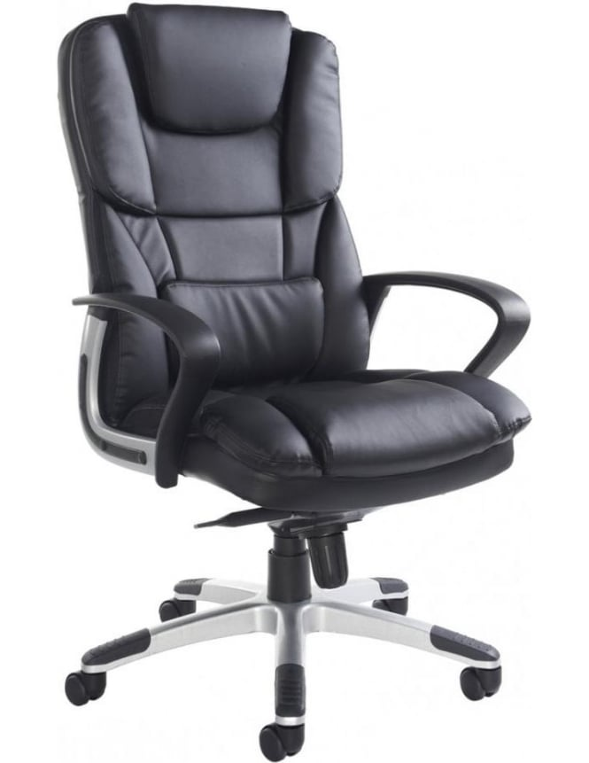 Dams Palermo Leather Faced Executive Chair