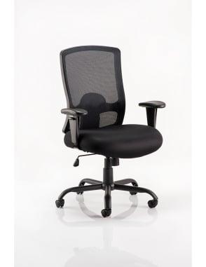 Portland HD Task Operator Black Mesh Chair