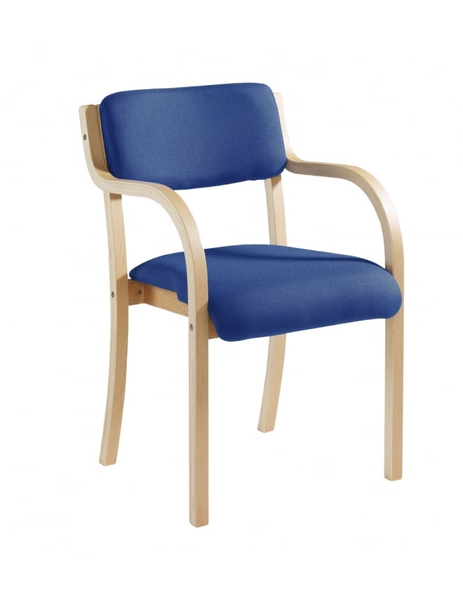 Dams Prague Wooden Conference Chair