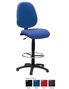 Prism High Back Draughting Chair