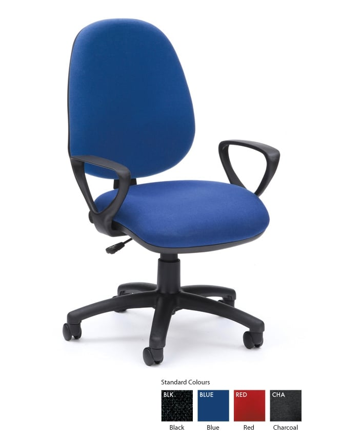 Woodstock Leabank Prism High Back Operator Chair