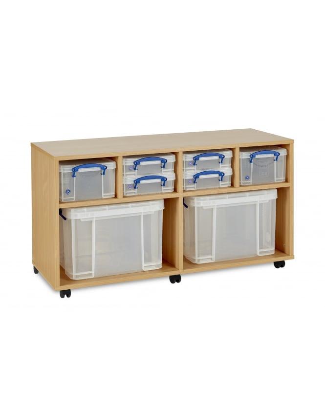 Monarch Furniture Really Useful Box Storage Unit 4 x 4L/2 x 9L/2 x 35L