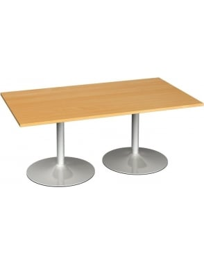 Rectangular Boardroom Table Trumpet Base