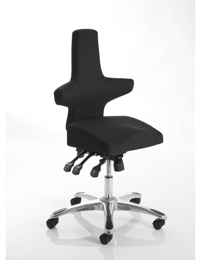 Dynamic Furniture Saltire Posture Chair Fabric