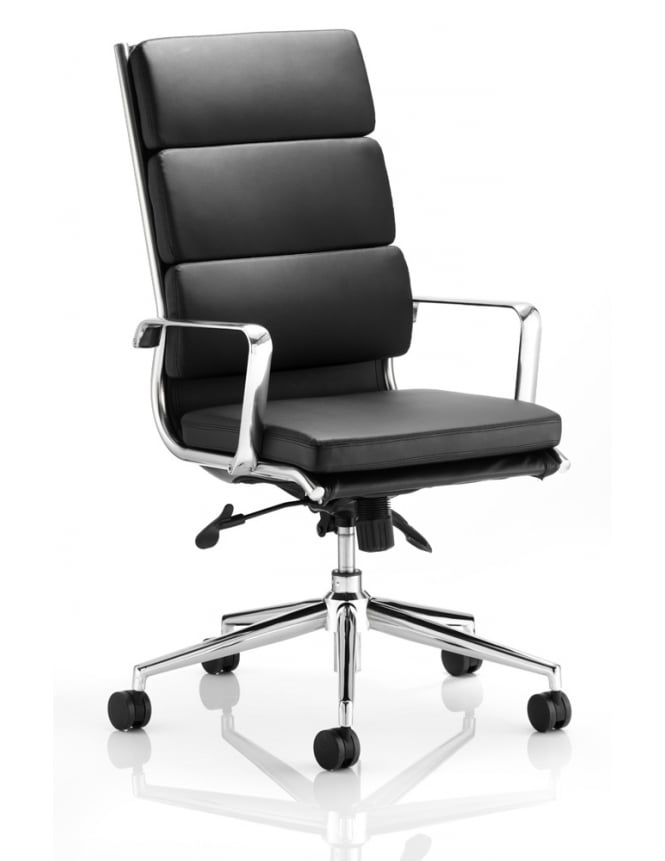 Dynamic Furniture Savoy Executive Bonded Leather High Back With Arms