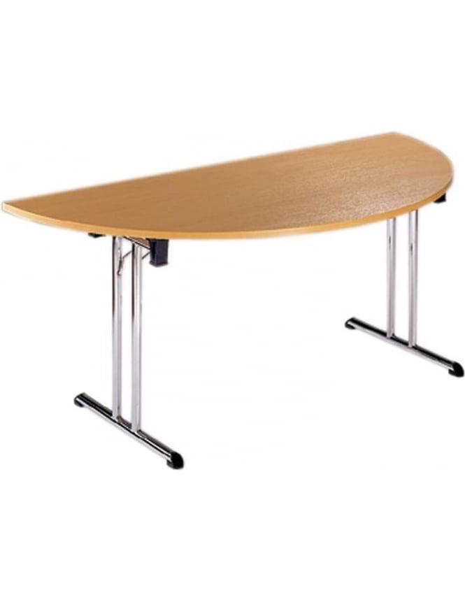 Dams Semi Circular Folding Leg Flexi-Table