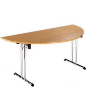 Semi Circular Folding Leg Flexi-Table