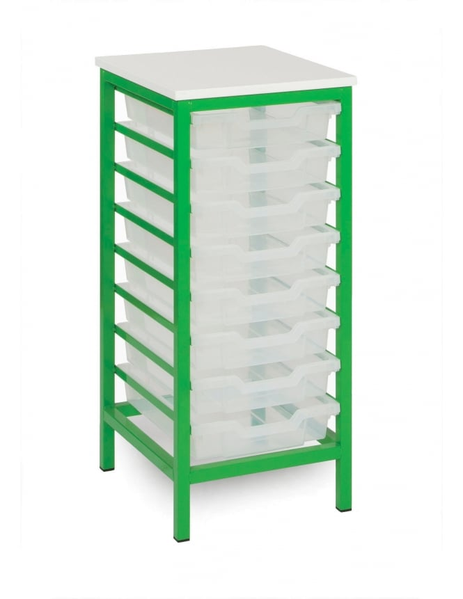Monarch Furniture Shallow Static Metal Tray Storage Units