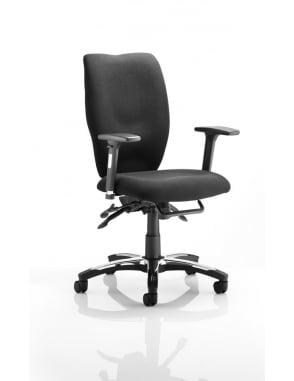 Sierra Executive Chair Black Fabric