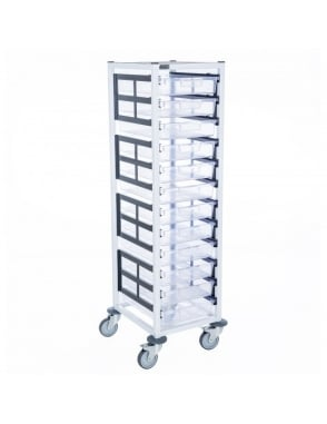 Single Column 12 Level Medical Trolley