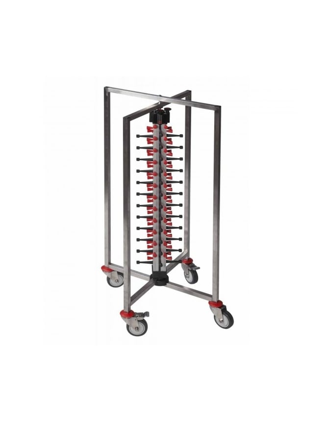 WPF Single Column Mobile Plate Mate (48 Plates) Collapsible