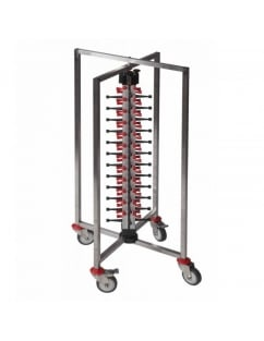 Single Column Mobile Plate Mate (48 Plates) Collapsible
