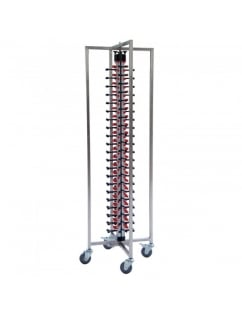 Single Column Mobile Plate Mate (84 Plates) Collapsible