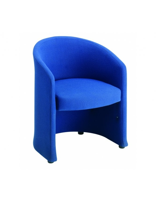 Dams Slender Fabric Reception Chair