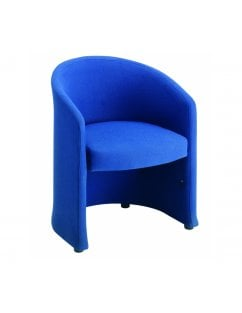Slender Fabric Reception Chair