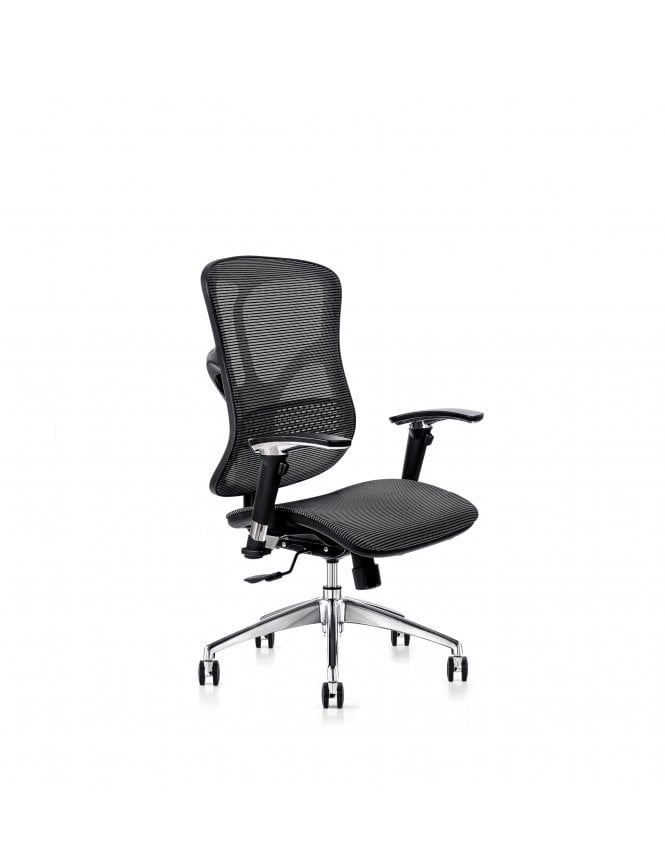 Hood Seating Soft Touch Black Mesh 101 Series F94 - Mesh Seat Chair