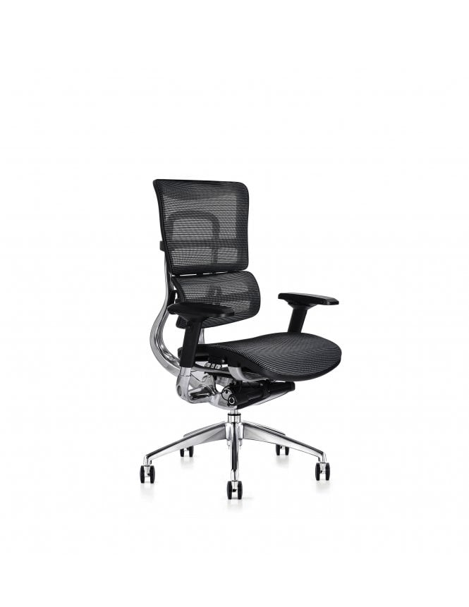 Hood Seating Soft Touch Black Mesh i29 Series - Fabric Seat Chair
