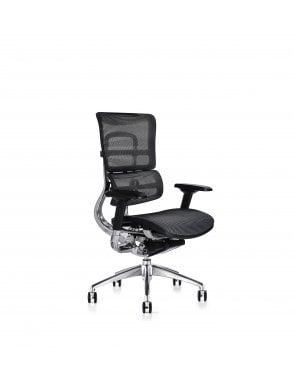 Soft Touch Black Mesh i29 Series - Mesh Seat Chair