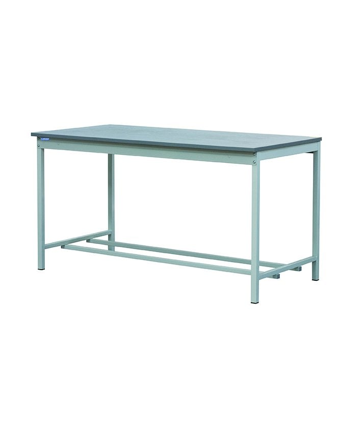 QMP Square Tube Workbench - Laminate Worktop - 20mm Thick