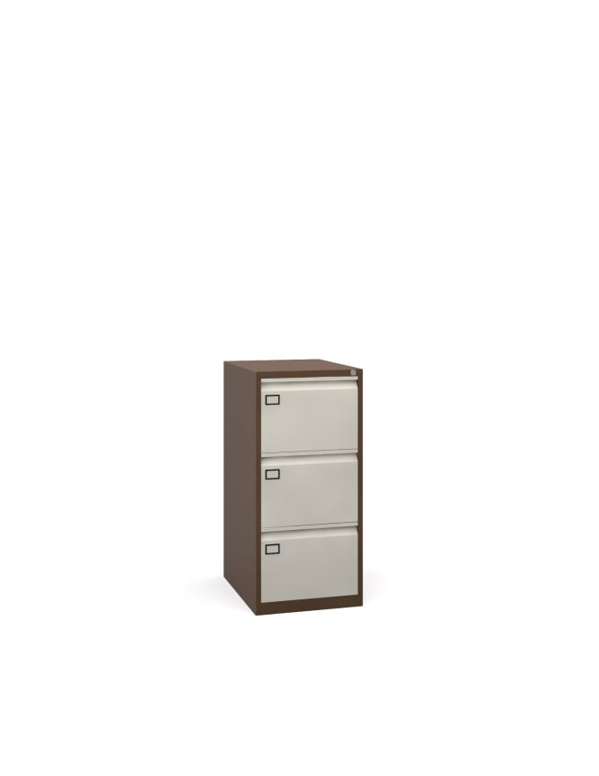 Bisley Steel 3 Drawer Filing Cabinet 1016mm