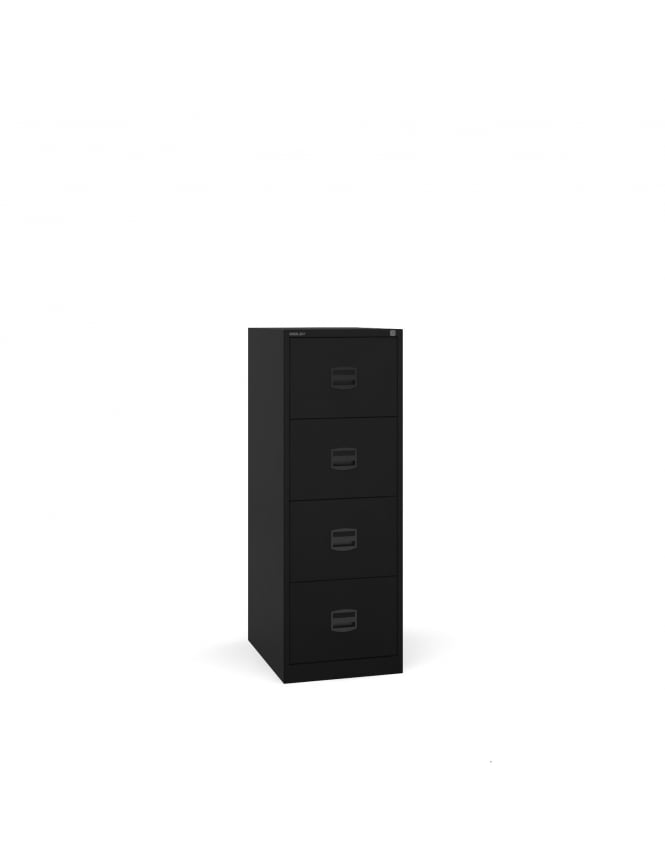 Bisley Steel 4 Drawer Contract Filing Cabinet 1321mm