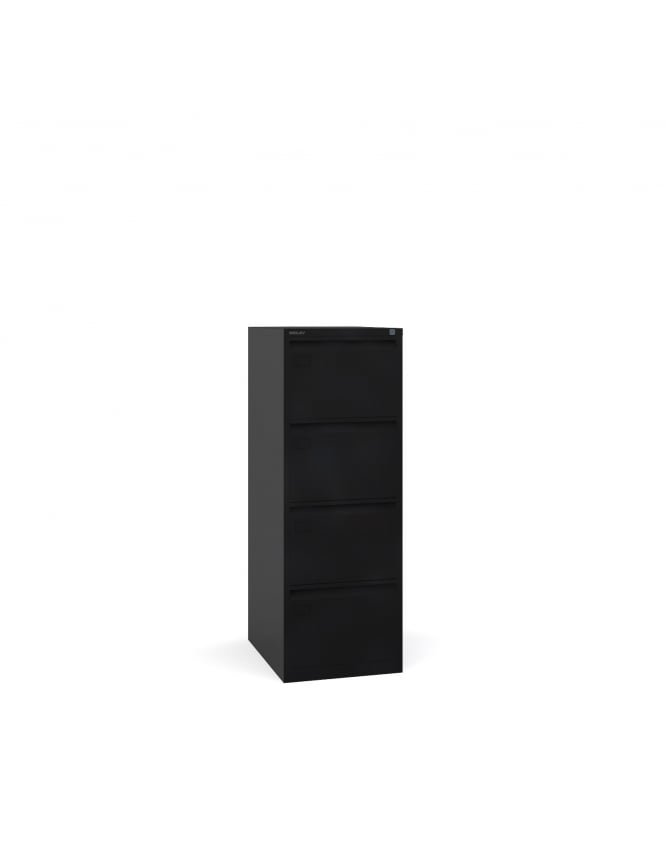 Bisley Steel 4 Drawer Filing Cabinet 1321mm