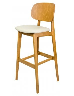 The Garda Bar Chair with Seren Seat Pad