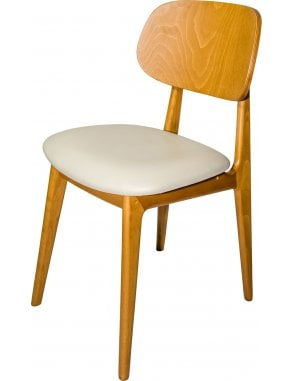 The Garda Dining Chair with Seren Seat Pad