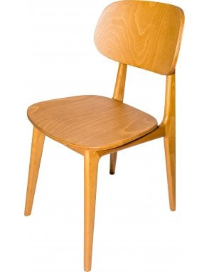 The Garda Dining Chair with Veneer Seat