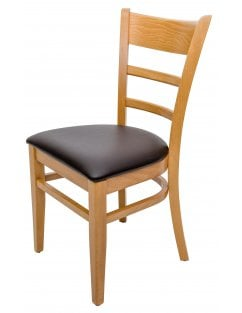 The Hudson Dining Chair with COM Seat Pad