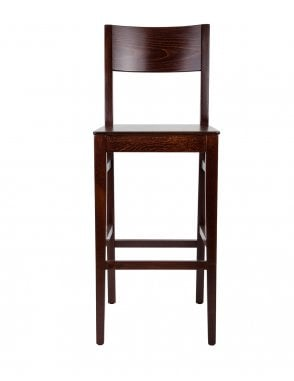 The Orion Walnut with Veneer Bar Chair