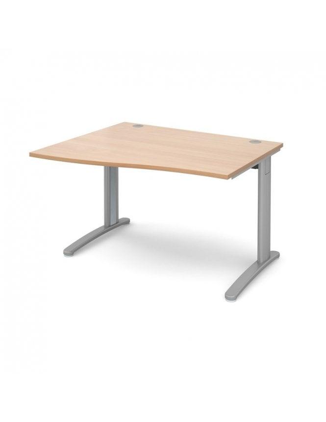 Dams TR10 Left Hand Wave Desk