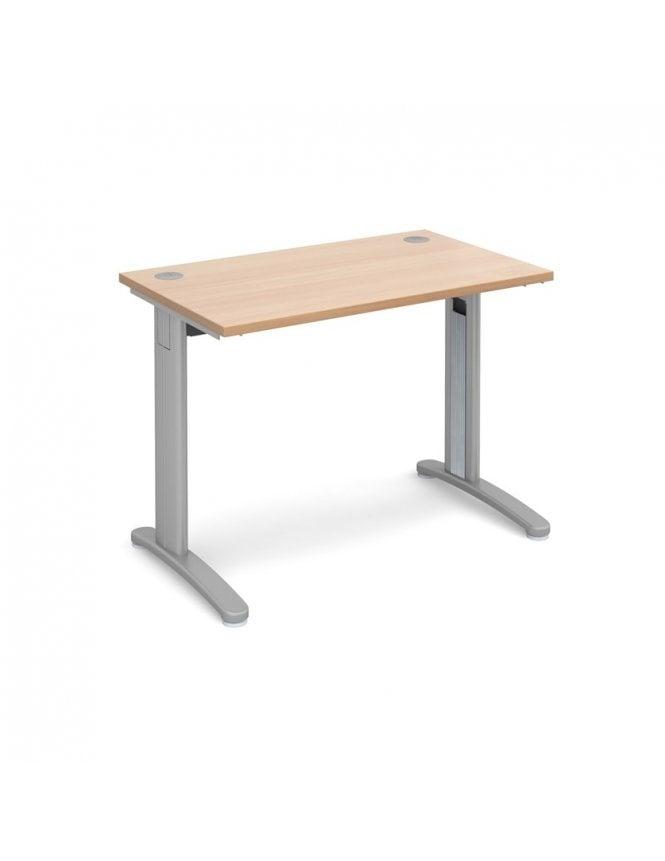 Dams TR10 Straight Desk 800mm